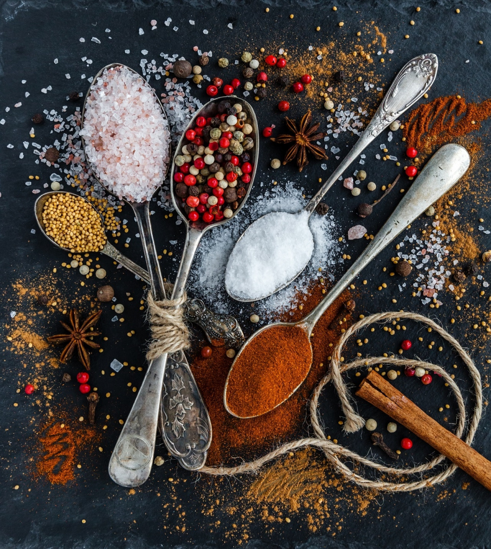 A few words about spices